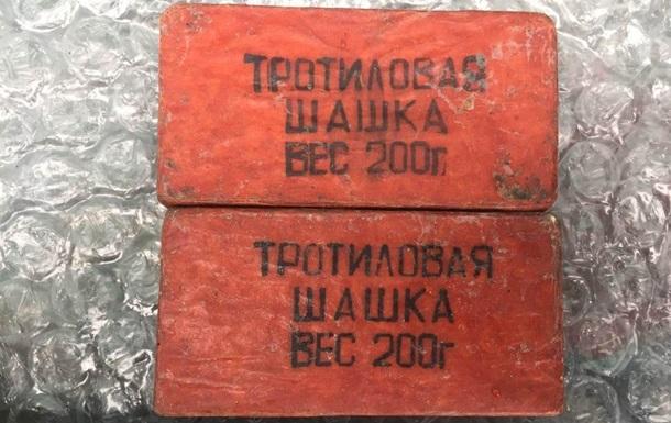 В Скадовске мужчина продавал на рынке гранату и тротиловые шашки