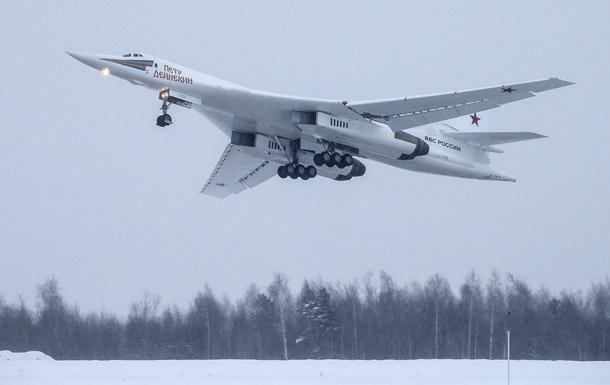 Появилось видео первого полета российского Ту-160М
