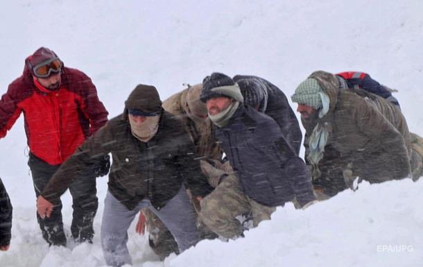 Лавина в Туреччині: кількість загиблих зросла