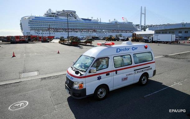 На круизном лайнере в Японии выявили еще 41 случай коронавируса