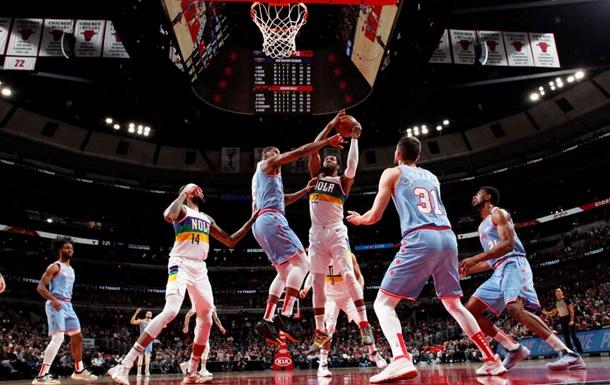 НБА: Новый Орлеан обыграл Чикаго, Лейкерс уступили Хьюстону