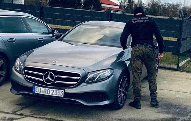 В Польше украинцев задержали на угнанном автомобиле