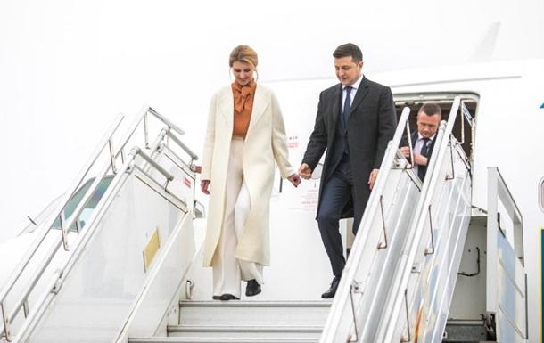 Зеленский прибыл с визитом в Италию