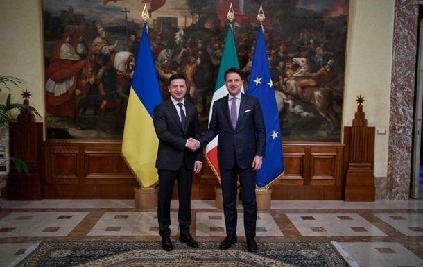 Зеленский в Италии попросил закрыть офисы  ЛДНР