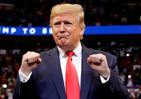 У Трампа 97 %, Байден -  фаворит  с конца