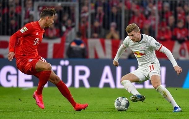 Бавария сохранила лидерство в Бундеслиге после матча с Лейпцигом