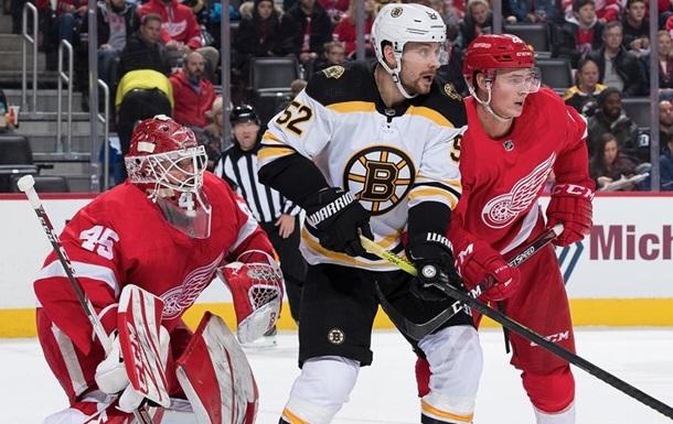 НХЛ: Рейнджерс обыграл Лос-Анджелес, Бостон уступил Детройту
