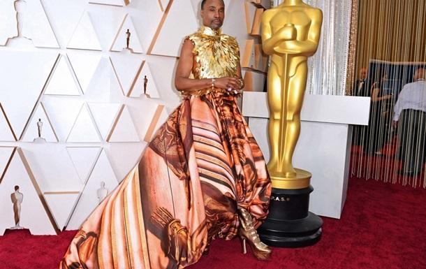 Актер Билли Портер пришел на церемонию вручения «Оскар» в платье и туфлях на каблуках