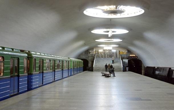 В харьковском метро жестко задержали  зайца