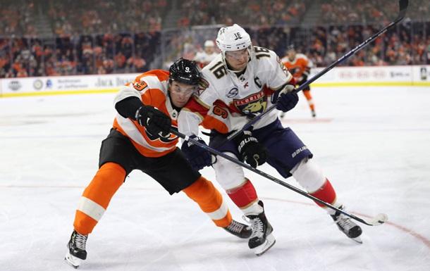 НХЛ: Флорида разгромно уступила Филадельфии, Айлендерс сильнее Вашингтона