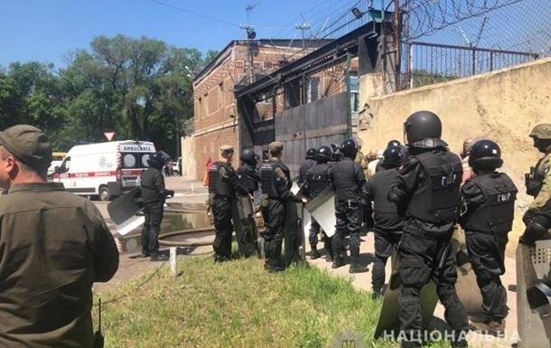 Бунт в Одесской колонии: семь человек получили подозрения