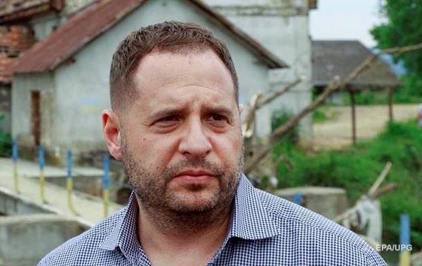 Ермак отреагировал на заявление по воде в Крым