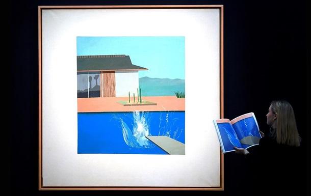 Картину художника Девіда Хокні продали за $30 млн