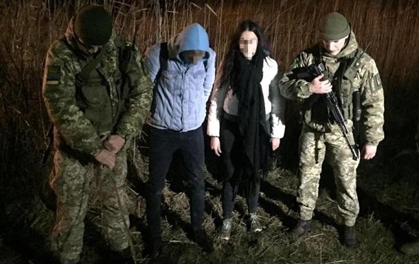 Пара нелегально пересекла границу Украины ради Дня Валентина
