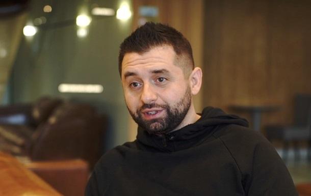 Арахамия говорит, что не предлагал поставлять воду в Крым
