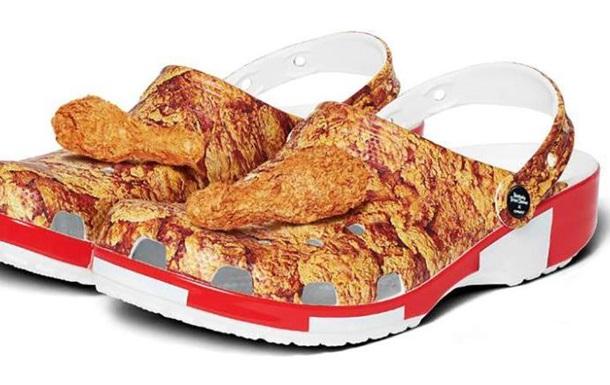 Появилась обувь с ароматом жареной курицы