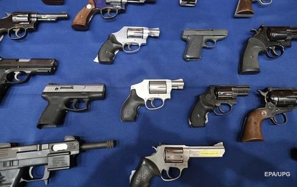 Копы за год изъяли полторы тысячи единиц огнестрельного оружия