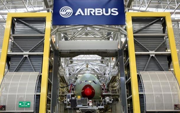 Збитки Airbus за 2019 рік сягнули 1,36 мільярда євро