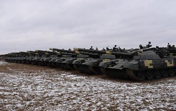 Киевский завод передал ВСУ 25 модернизированных танков