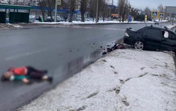 В Харькове машина насмерть сбила двух женщин на пешеходном переходе