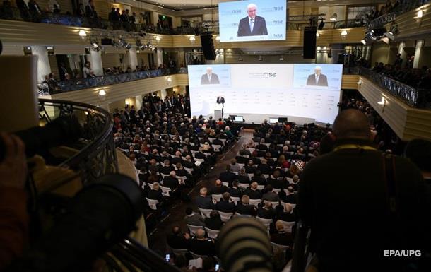 В Мюнхене удалили  план  по Донбассу