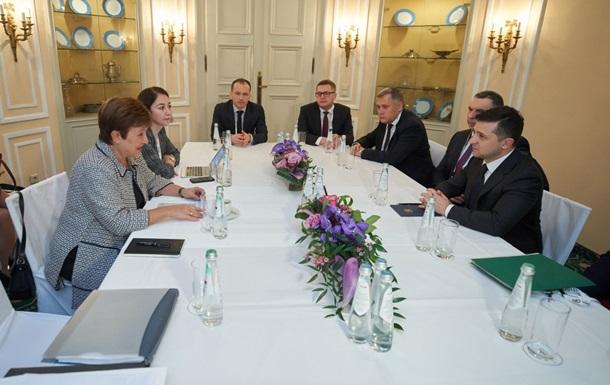 Зеленский обсудил с МВФ экономику Украины