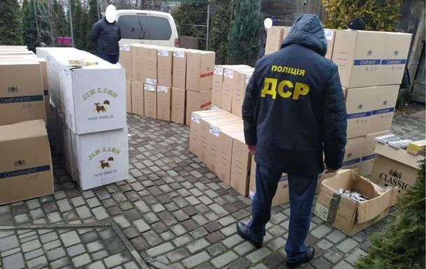 Правоохоронці розкрили схему поставок сигарет з окупованих територій