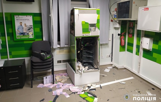 В Николаеве из банкомата украли четверть миллиона