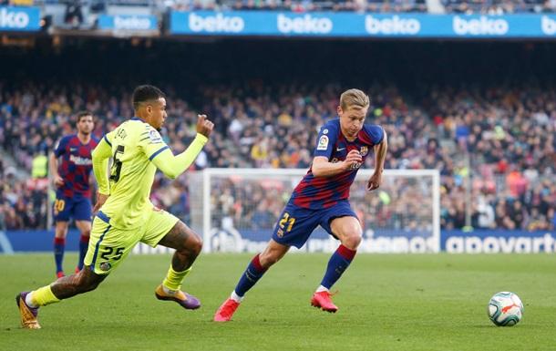 Футболист Хетафе сыграл против Барселоны в бутсах с изображением Брайанта