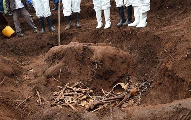 В Бурунди нашли захоронения с останками шести тысяч человек