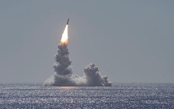 В США испытали ракету Trident II без боевой части