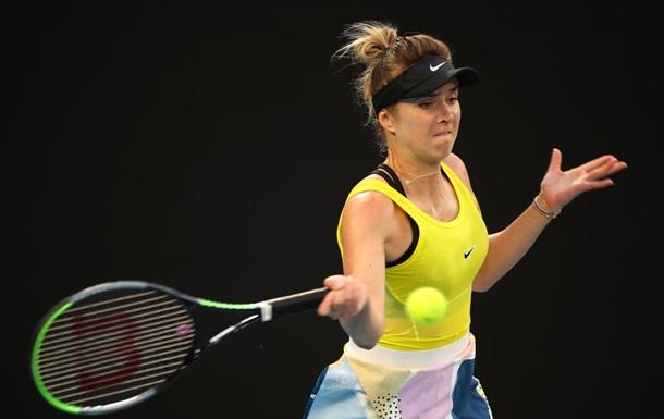 Свитолина разгромно проиграла на старте турнира в Дубае