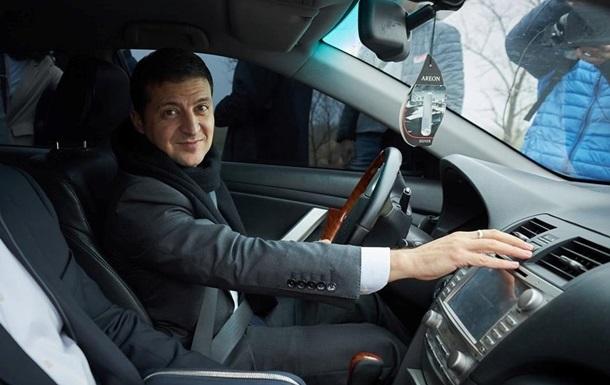 Витрати на автопарк президента скоротилися в 1,5 рази