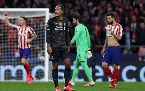 Атлетіко завдав Ліверпулю поразки в Лізі чемпіонів
