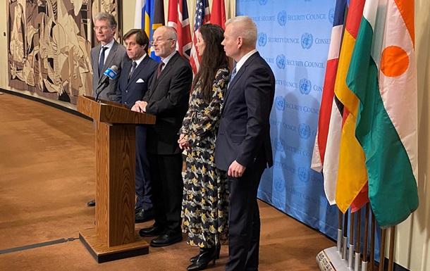 СБ ООН: Пять стран сделали заявление по Украине
