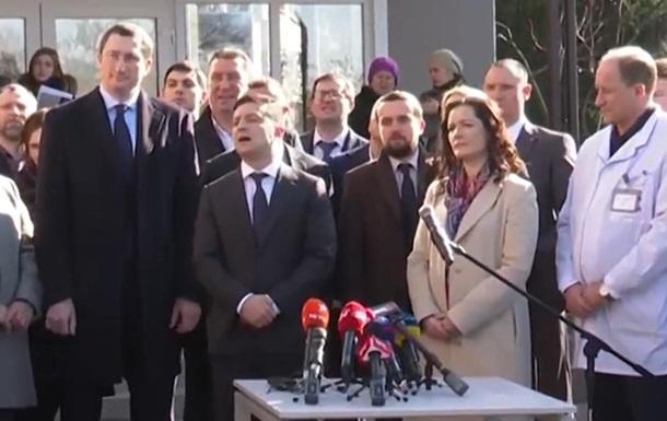 Зеленський знову посперечався з  розбійником  у Борисполі
