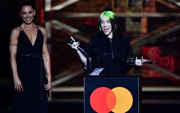 BRIT Awards 2020: названы имена победителей: фото, видео