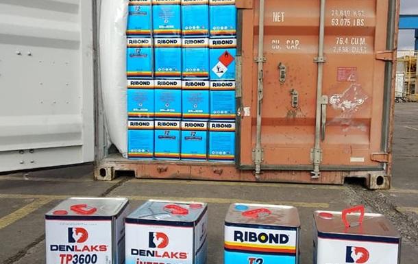 В порту Одессы нашли четыре тонны запрещенных химикатов из Турции