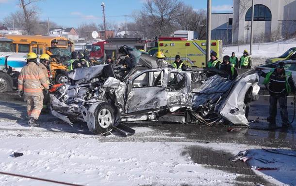 У Канаді зіткнулися 200 авто: постраждали 60 людей