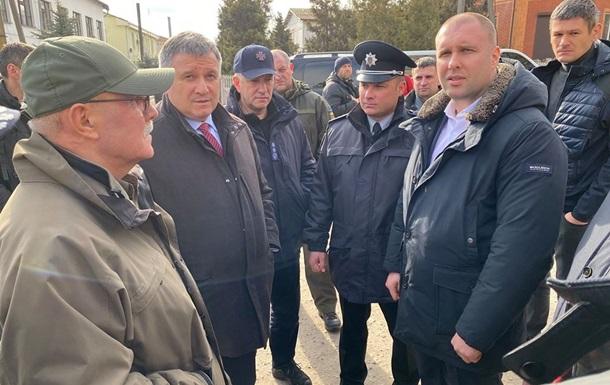До протестувальників у Нові Санжари приїхав Аваков