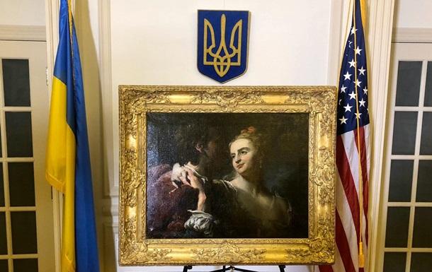 Похищенная нацистами картина Пьера Луи Гудрона возвращается в Украину