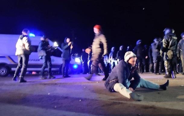 Київські  фермери  стали учасниками протестів у Санжарах - соцмережі