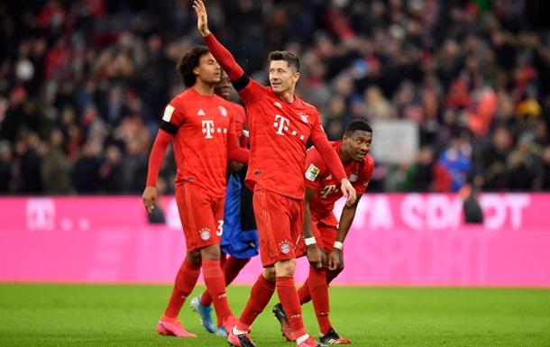 Баварія здолала Падерборн у матчі Бундесліги