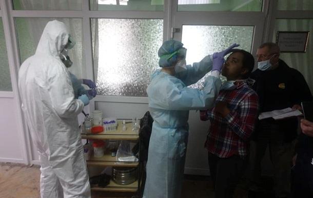 В Новые Санжары приехала группа эпидемиологов