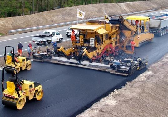Шлаки будут использовать для строительства дорог