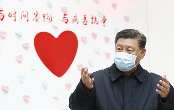 Глава КНР: Коронавірус - найбільша криза в охороні здоров я