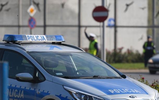 Пьяный украинец разбил в Польше восемь авто