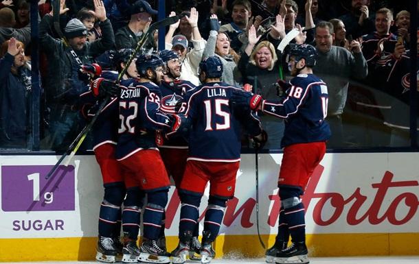 Коламбус переиграл Оттаву в матче НХЛ
