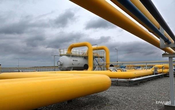 Запаси газу України скоротилися на чверть