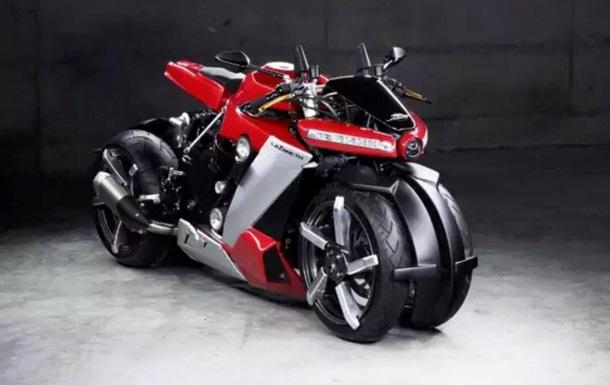 Lazareth выпустила 4-колесный мотоцикл за 100 тысяч евро